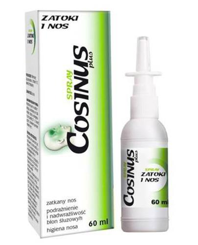 Cosinus, spray, Zatoki i Nos, 60 ml