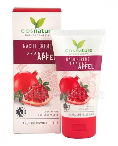 COSNATURE Naturalny odżywczy krem na noc z owocem granatu - 50 ml