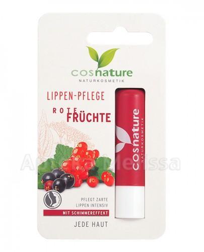 COSNATURE Naturalny ochronny balsam do ust z ekstraktem z czerwonych owoców - 4,8 g