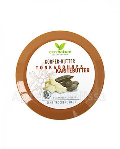COSNATURE Naturalne odżywcze masło do ciała z masłem shea i tonką - 200 ml