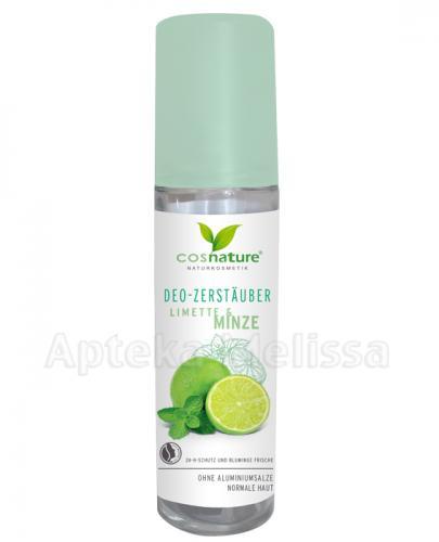 COSNATURE Naturalny dezodorant w spray'u limonka i mięta - 75 ml - Drogeria Melissa