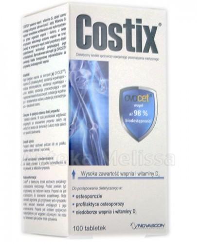 COSTIX - 100 tabl. ZDROWE KOŚCI