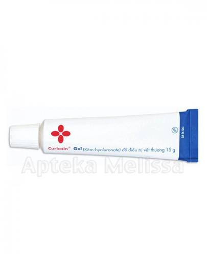 CURIOSIN Żel na rany i owrzodzenia - 15 g - Apteka internetowa Melissa