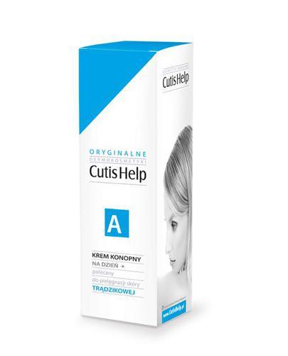 CUTISHELP A Krem konopny na dzień do skóry trądzikowej - 30 ml