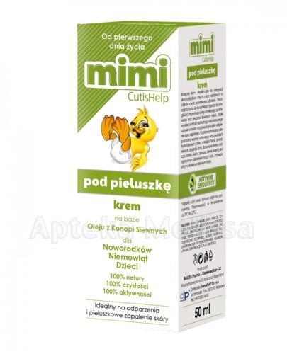 CUTISHELP Mimi krem pod pieluszkę na odparzenia - 50 ml   - Drogeria Melissa