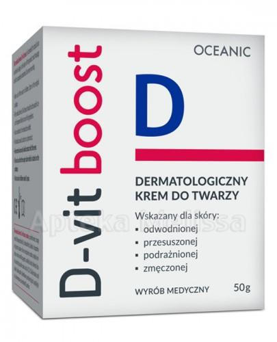 D-VIT BOOST Dermatologiczny krem do twarzy - 50 g  - Apteka internetowa Melissa