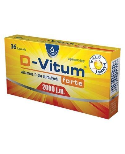 D-VITUM FORTE Witamina D dla dorosłych 2000 j.m. - 36 kaps.