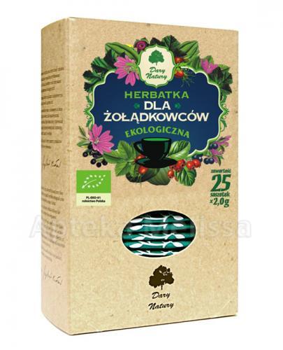 DARY NATURY Herbatka dla żołądkowców - 25 sasz. - Apteka internetowa Melissa