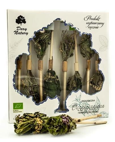 DARY NATURY Herbatka na patyku Oczyszczająca - 8 szt. - cena, stosowanie