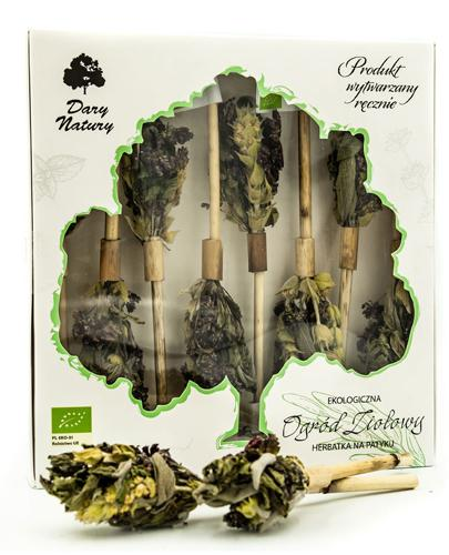 DARY NATURY Herbatka na patyku Ogród Ziołowy - 8 szt. - cena, właściwości - Apteka internetowa Melissa