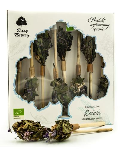 DARY NATURY Herbatka na patyku Relaks - 8 szt. - cena, opinie