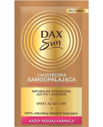 Dax Sun Chusteczka samoopalająca - 1 szt. - cena, opinie, skład - Apteka internetowa Melissa