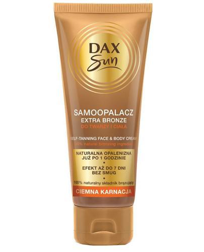 Dax Sun Samoopalacz extra bronze ciemna karnacja - 75 ml - cena, opinie, wskazania - Apteka internetowa Melissa