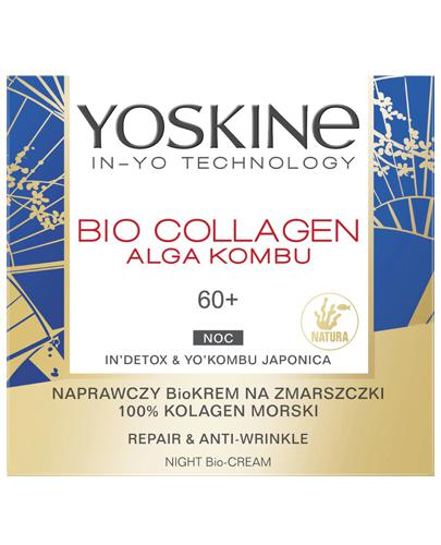 Dax Yoskine Bio Collagen Naprawczy krem przeciw głębokim zmarszczkom na noc 60+ - 50 ml - cena, opinie, skład - Apteka internetowa Melissa