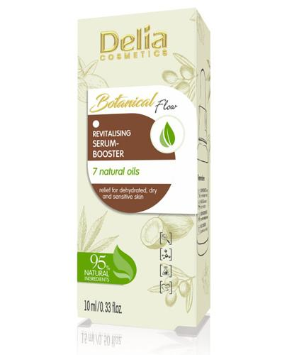 Delia BotanicalFlow Rewitalizujące serum-booster - 10 ml Do cery suchej i wrażliwej - cena, opinie, skład  - Apteka internetowa Melissa