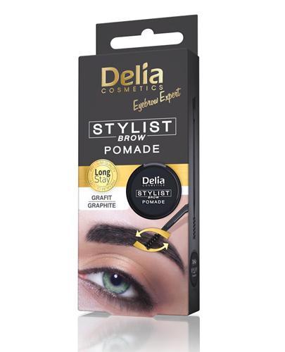 Delia Pomada do brwi grafit 1.1 - 1 szt. Do makijażu i układania brwi - cena, opinie, stosowanie  - Apteka internetowa Melissa