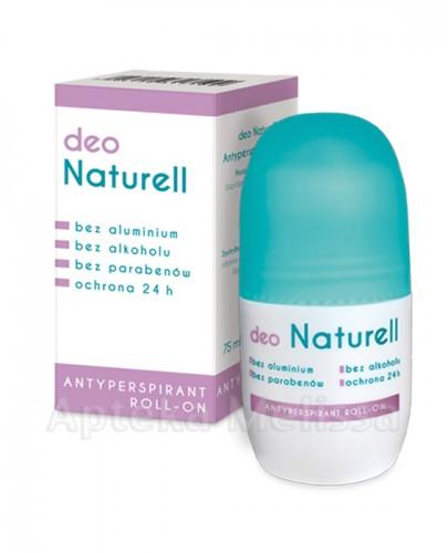 NATURELL DEO Antyperspirant roll-on - 75 ml  - Apteka internetowa Melissa