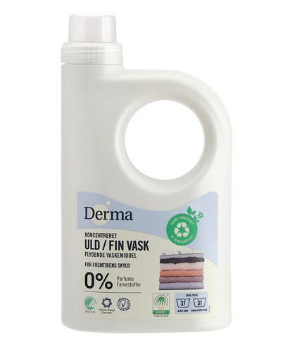 DERMA Płyn do prania wełny i tkanin delikatnych - 945 ml