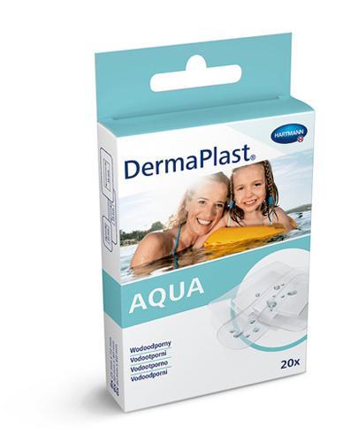 DermaPlast Aqua Wodoodporne plastry - 20 szt. Na drobne rany - cena, opinie, stosowanie  - Drogeria Melissa