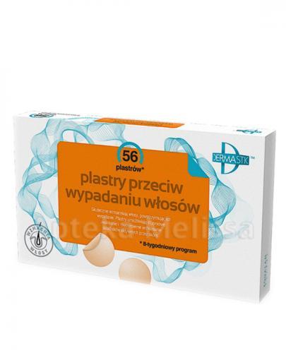 DERMASTIC Plastry przeciw wypadaniu włosów - 56 szt. - Apteka internetowa Melissa