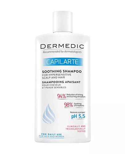 DERMEDIC CAPILARTE Szampon zwalczający łupież i jego przyczyny - 300 ml
