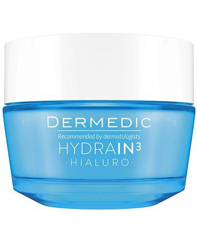 DERMEDIC HYDRAIN 3 HIALURO Krem nawilżający o dogłębnym działaniu SPF15 - 50 ml - cena, opinie, stosowanie - Drogeria Melissa