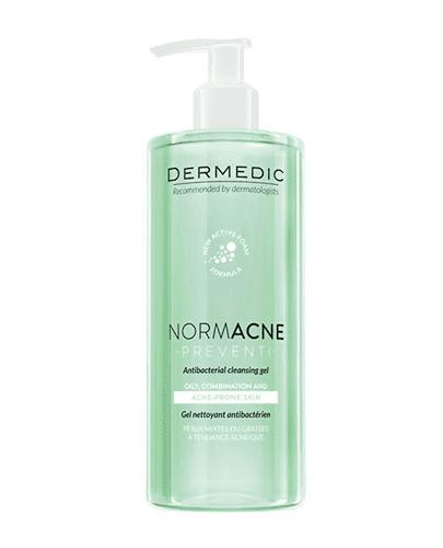 DERMEDIC NORMACNE Preventi Antybakteryjny żel do mycia - 500 ml - cena, opinie, właściwości - Apteka internetowa Melissa