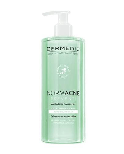 DERMEDIC NORMACNE Preventi Antybakteryjny żel do mycia - 500 ml - cena, opinie, właściwości - Drogeria Melissa