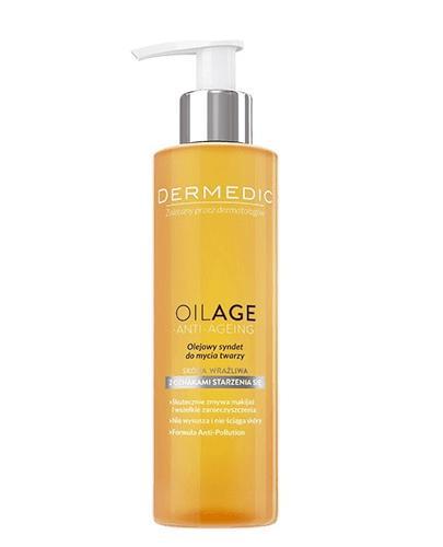 DERMEDIC OILAGE ANTI-AGEING Olejowy syndet do mycia twarzy - 200 ml