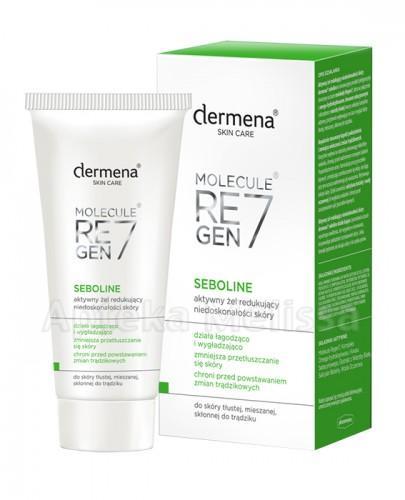 DERMENA SEBOLINE Aktywny żel redukujący niedoskonałości skóry - 50 ml - Apteka internetowa Melissa