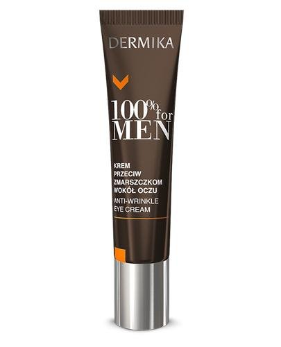 DERMIKA 100% FOR MEN Krem przeciw zmarszczkom wokół oczu - 15 ml