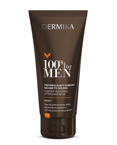 DERMIKA 100% FOR MEN Przywracający komfort balsam po goleniu - 100 ml