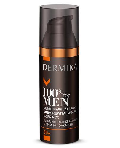 DERMIKA 100% FOR MEN Silnie nawilżający krem rewitalizujący 30+ - 50 ml