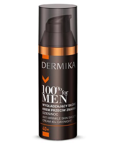 DERMIKA 100% FOR MEN Wygładzający skórę krem przeciw zmarszczkom 40+ - 50 ml