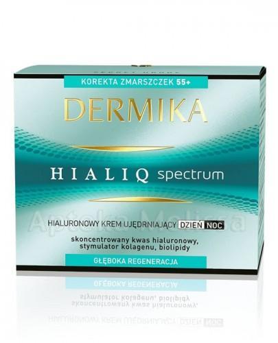 DERMIKA HIALIQ SPECTRUM 55+ Hialuronowy krem ujędrniający na dzień i na noc - 50 ml - Apteka internetowa Melissa