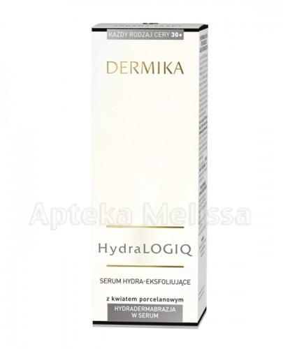 DERMIKA HYDRALOGIQ 30+ Serum hydra-eksfoliujące z kwiatem porcelanowym - 30 ml - Apteka internetowa Melissa