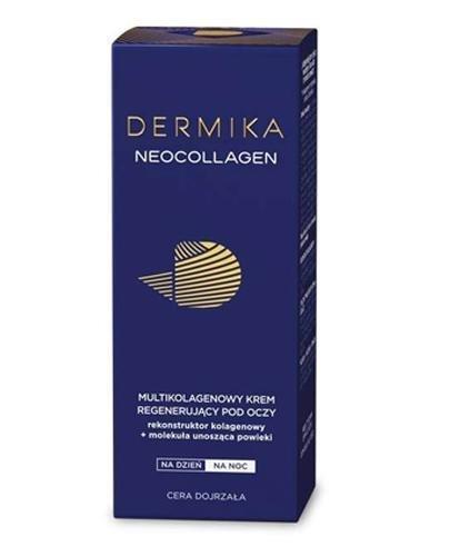 DERMIKA NEOCOLLAGEN Multikolagenowy krem regenerujący pod oczy - 15 ml