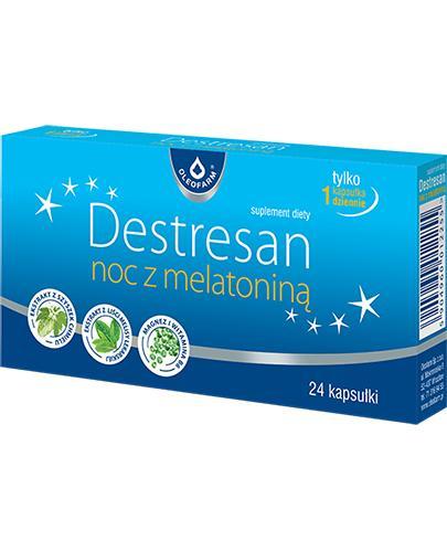DESTRESAN NOC Z melatoniną - 24 kaps.