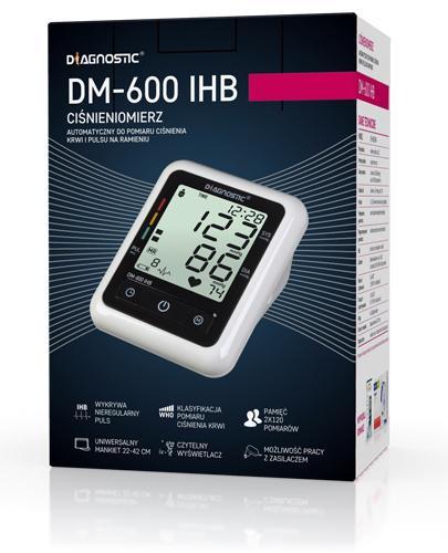 DIAGNOSTIC DM-600 IHB Ciśnieniomierz naramienny z zasilaczem sieciowym - 1 szt. - Apteka internetowa Melissa