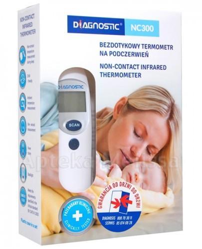 DIAGNOSTIC NC300 Termometr bezkontaktowy - 1 szt. + Etui - Apteka internetowa Melissa