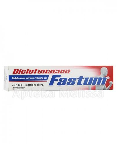 DICLOFENACUM FASTUM Żel 0.01g/g - 100 g Data ważności: 2018.09.30 - Apteka internetowa Melissa