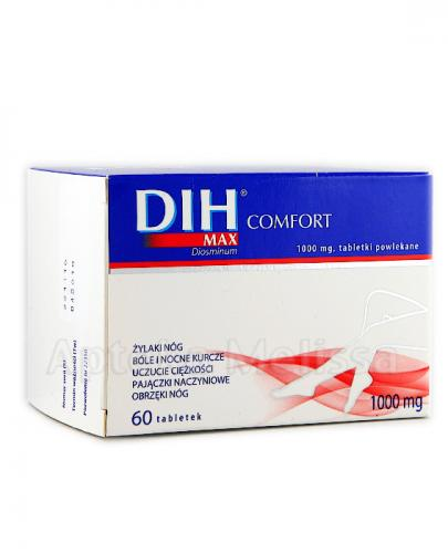 DIH MAX COMFORT 1000 mg - 60 tabl.
