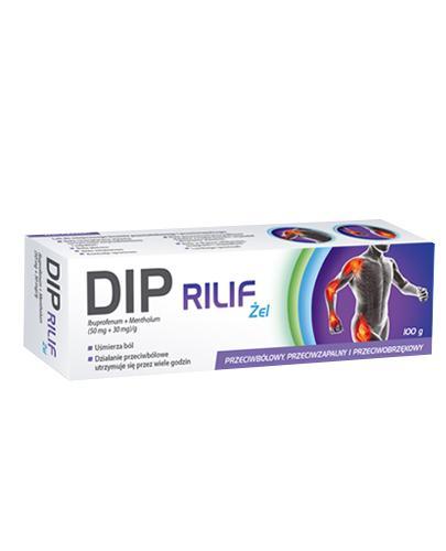 DIP RILIF (Deep Relief) Żel - 100 g - Apteka internetowa Melissa