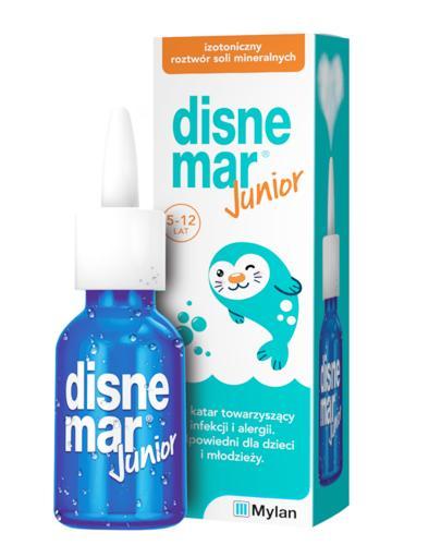 DISNEMAR JUNIOR Izotoniczny roztwór soli mineralnych - 25 ml - katar przy infekcji i alergii - cena, opinie, wskazania - Apteka internetowa Melissa