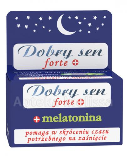 DOBRY SEN FORTE - 30 tabl. - Apteka internetowa Melissa