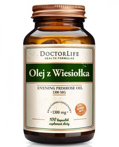 DOCTOR LIFE Olej z Wiesiołka 1300 mg - 100 kaps. - Apteka internetowa Melissa