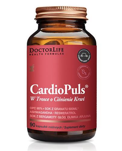 DoctorLife Cardio Puls Na ciśnienie - 90 kaps. - cena, opinie, właściwości - Apteka internetowa Melissa