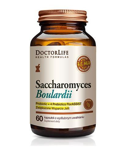 DoctorLife Saccharomyces Boulardii - 60 kaps. - cena, opinie, właściwości