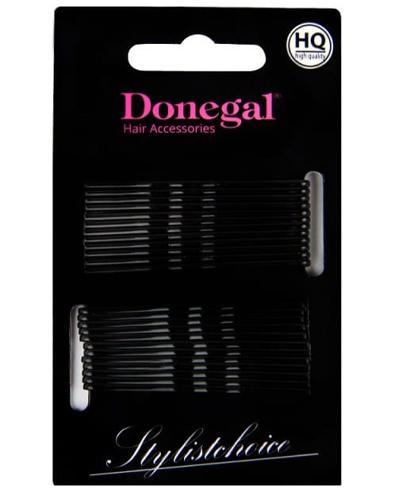 Donegal Wsuwki do włosów czarne - 24 szt. - cena, opinie, stosowanie - Drogeria Melissa