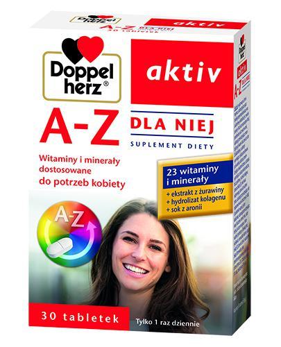 DOPPELHERZ AKTIV A-Z Dla niej - 30 tabl.
